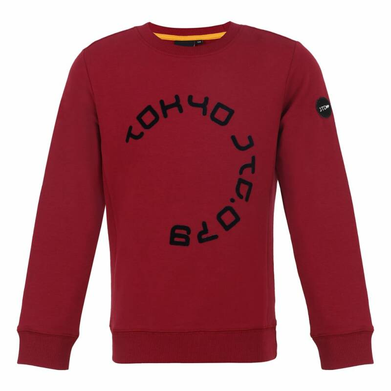Jumping The Couch | Sweater Tokyo donkerrood