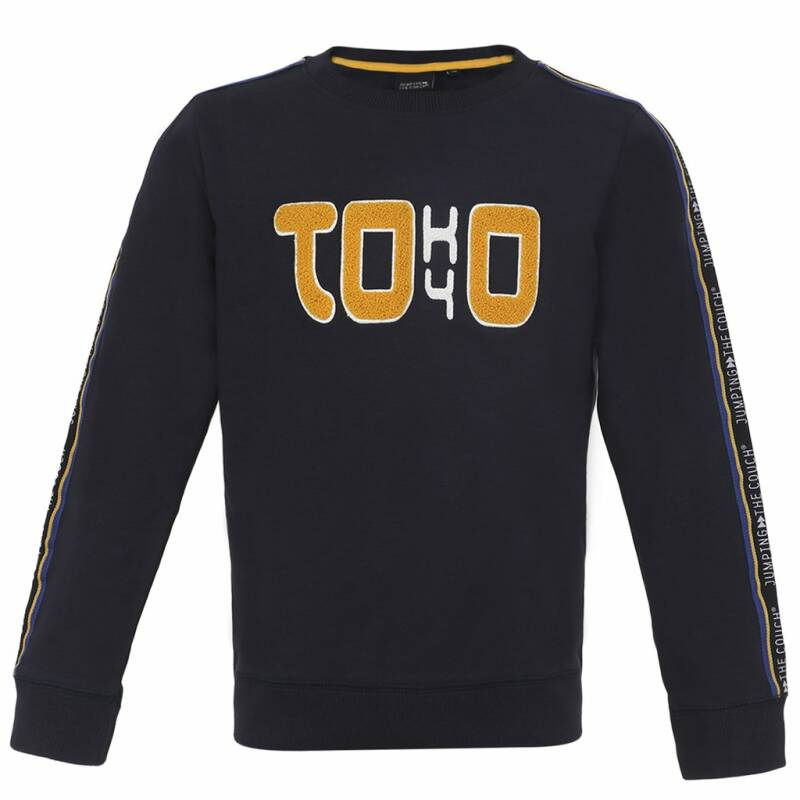 Jumping The Couch | Sweater Tokyo donkerblauw