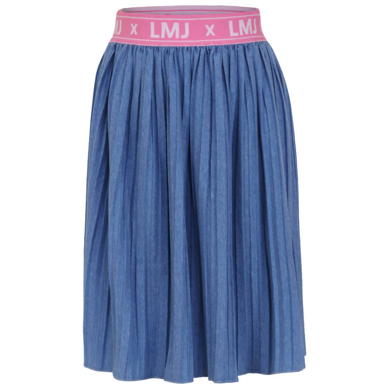 Little Miss Juliette | Rok Plissé Blauw