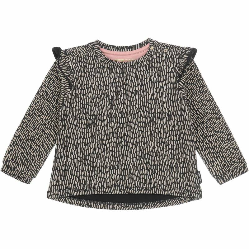 Tumble 'n Dry | Sweater Ruffle Grey Gienne