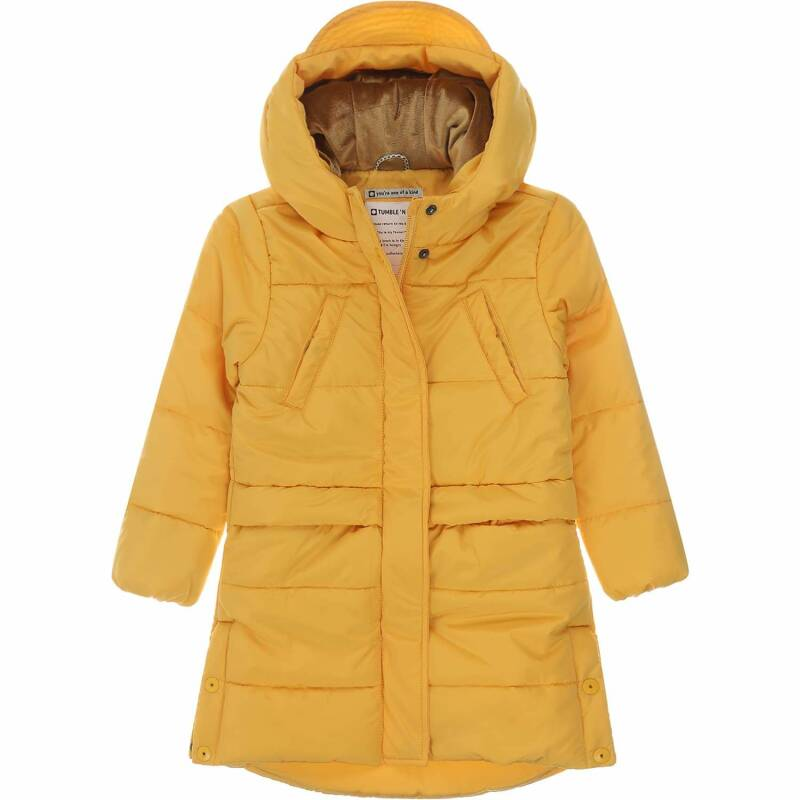 Tumble 'n Dry | Winterjas Mid Happy Yellow