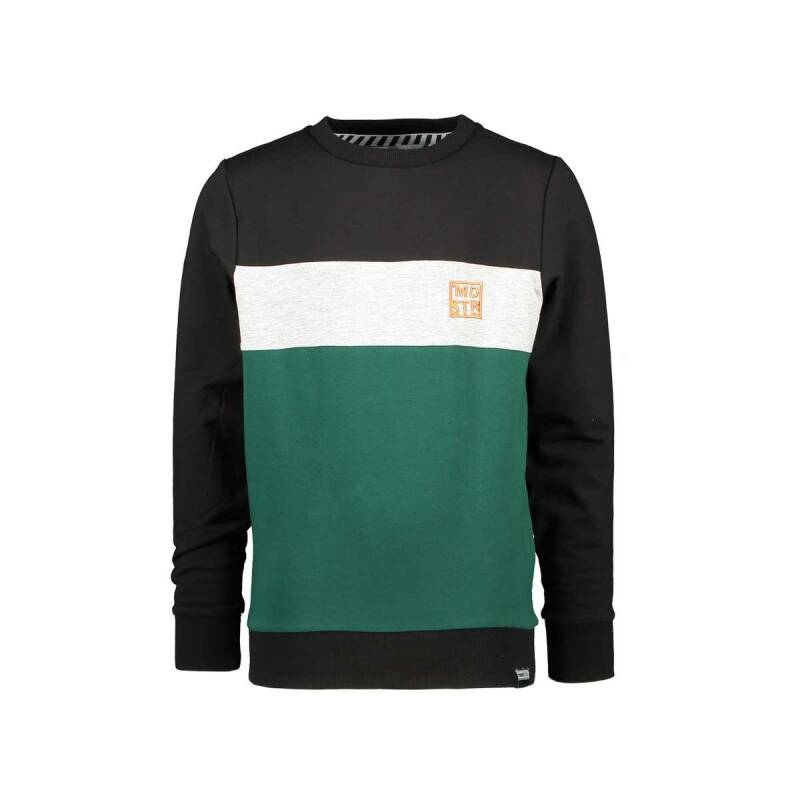 Moodstreet | Sweater Green Black