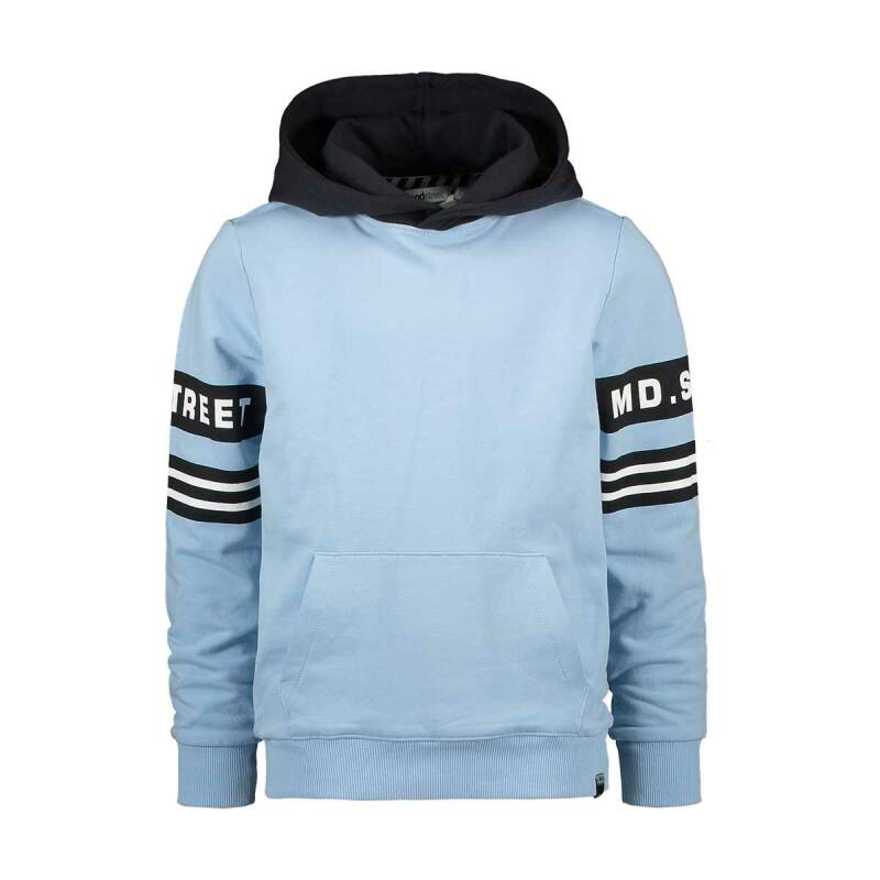 Moodstreet | Hooded Sweater Blue
