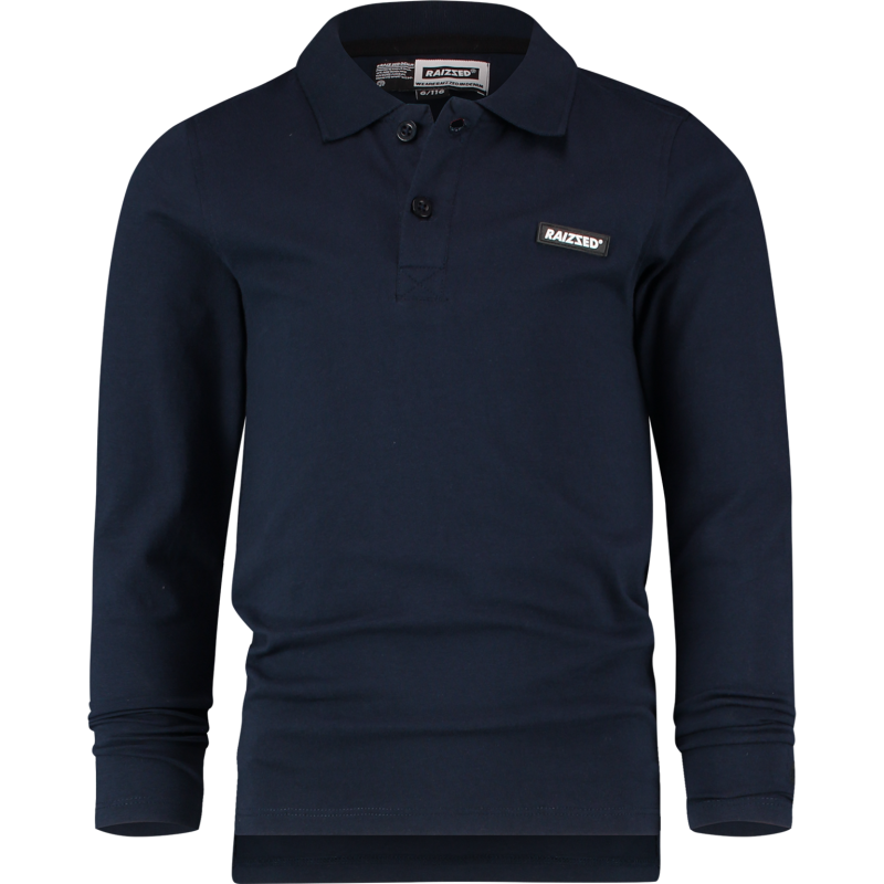 Raizzed | Longsleeve Polo Kazo Dark Blue