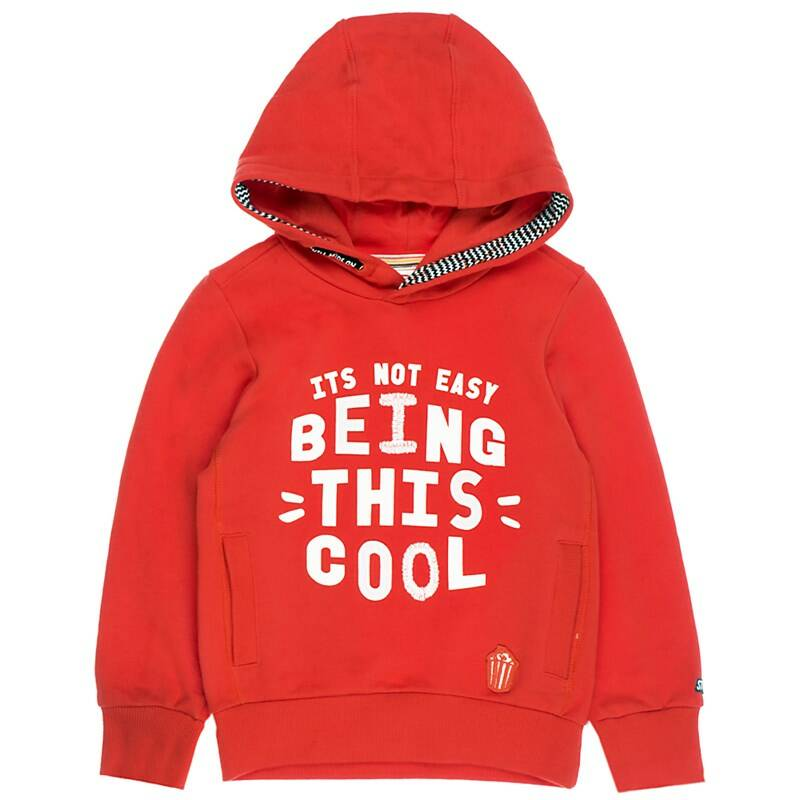 Sturdy | Hooded Sweater Red Cool