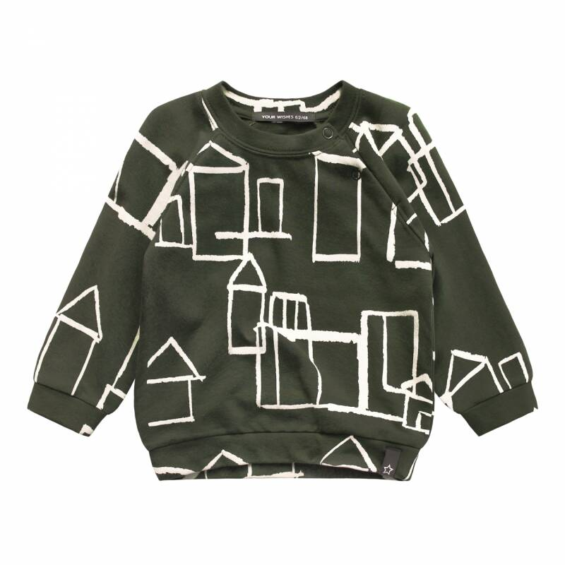 Your Wishes   Sweater Green Crayon Town