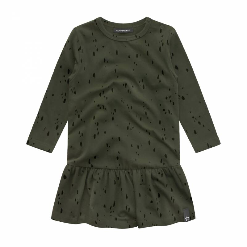Your Wishes | Dress Green Splatters