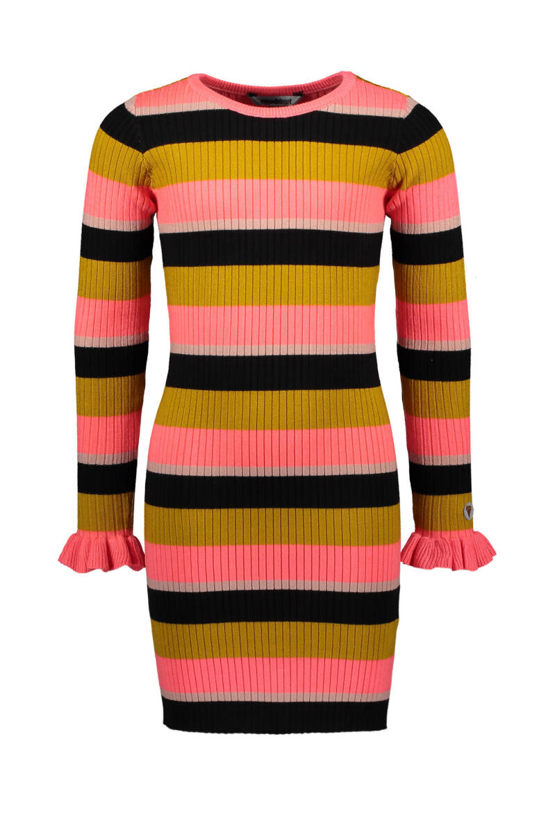 Moodstreet | Knitted Dress Stripes