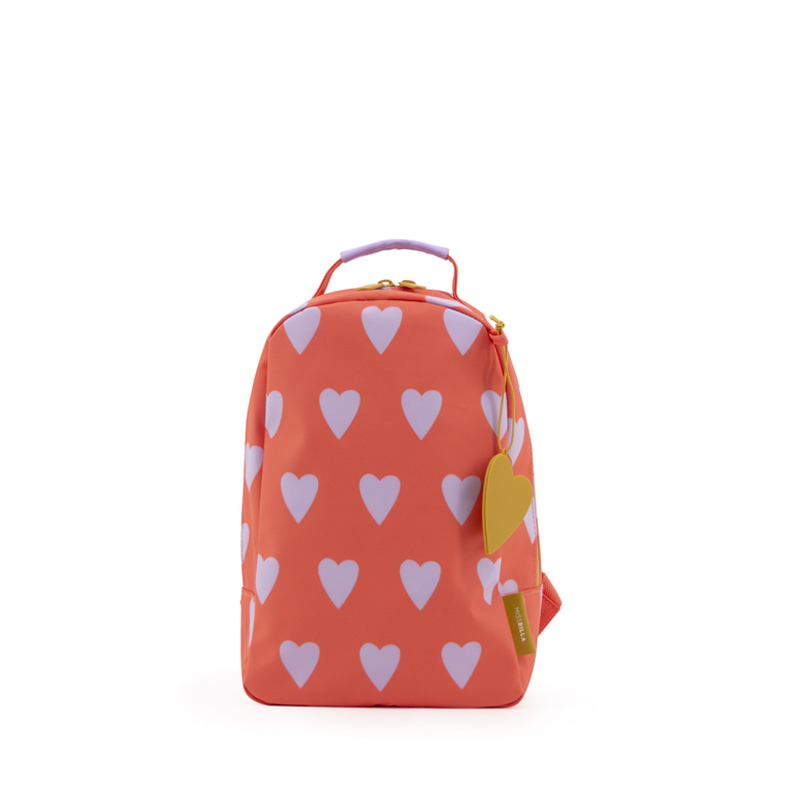 Miss Rilla | Backpack Hearts Orange