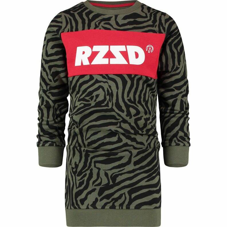 Raizzed | Sweatdress Dublin Army Zebra