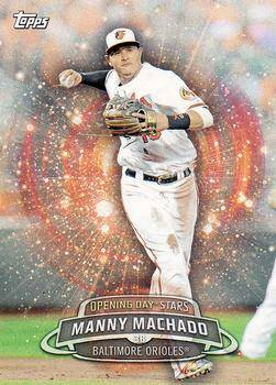 2017 Topps Opening Day Opening Day Baseball Card - #ODS-30 - Manny Machado - Baltimore Orioles