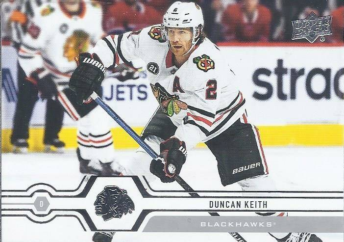 2019-20 Upper Deck Serie 1 - #114 - Duncan Keith - Chicago Blackhawks
