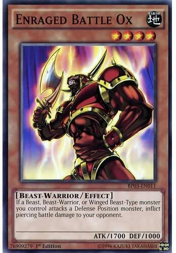 Enraged Battle Ox - BP03-EN011 - Battle Pack 3: Monster League