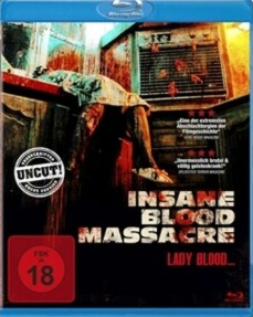 Insane Blood Massacre - Lady Blood - Bluray
