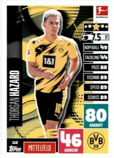 112 - Thorgan Hazard - Basiskarte - 2020/2021