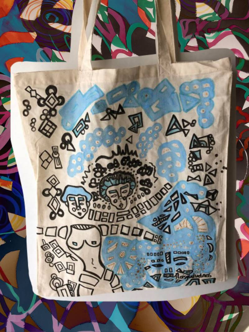 CHAOS IN PEACE TOTE BAG