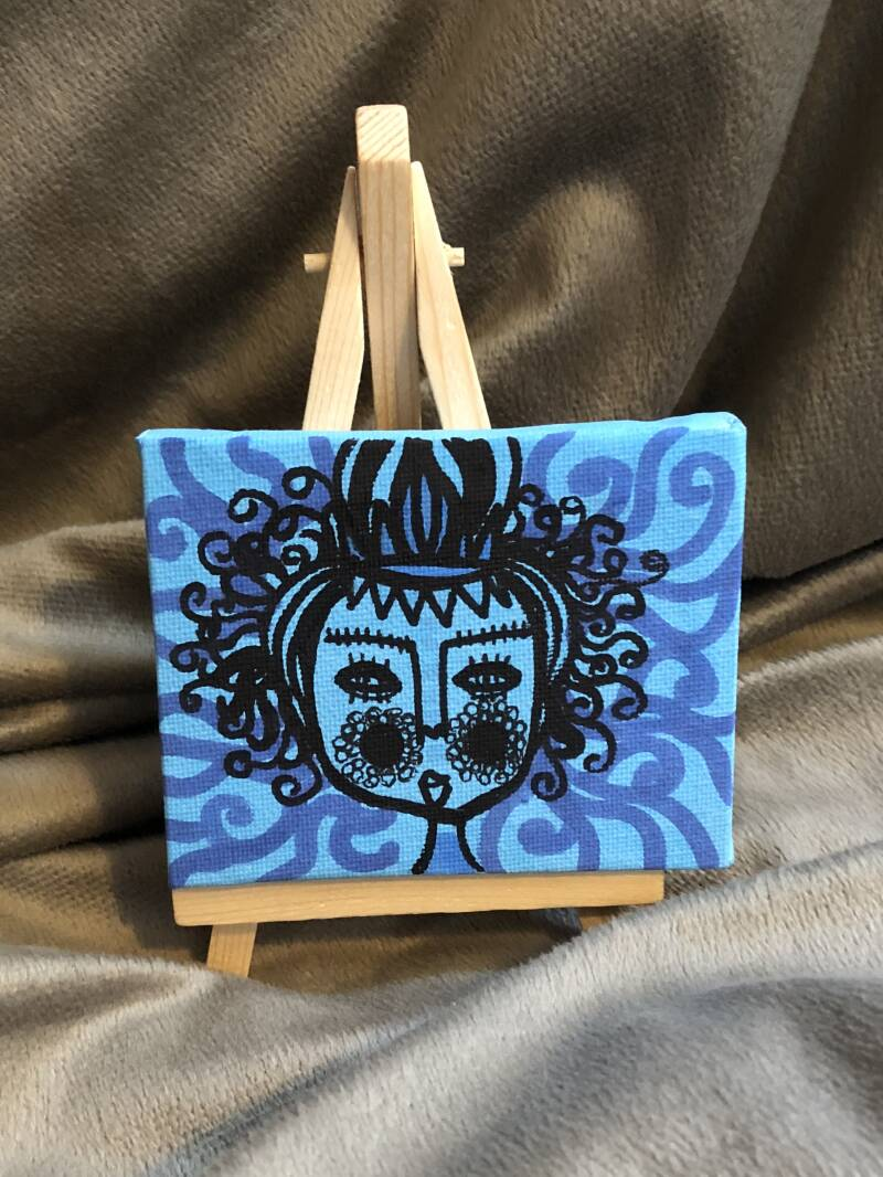 MEDUSA MINI PAINTING