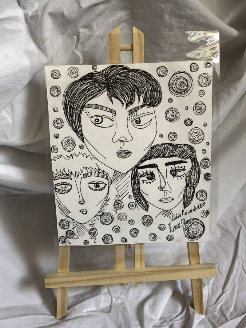 TRIPLETS ORIGINAL DRAWING