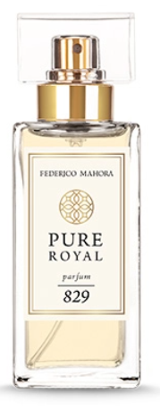 """829 PURE ROYAL DAMES PARFUM """"Chypre with a fruity note"""