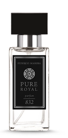 832 Pure Royal Heren Parfum ORIËNTAL WITH A SPICY NOTE