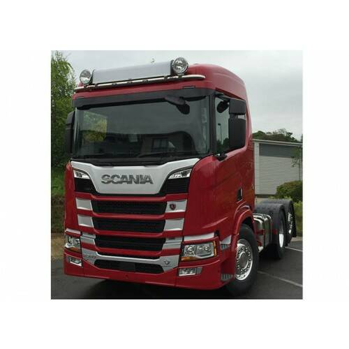 RVS HIBAR SCANIA R/S NEXTGEN NORMAL, BREED MODEL OP ZONNEKLEPSTEUNEN