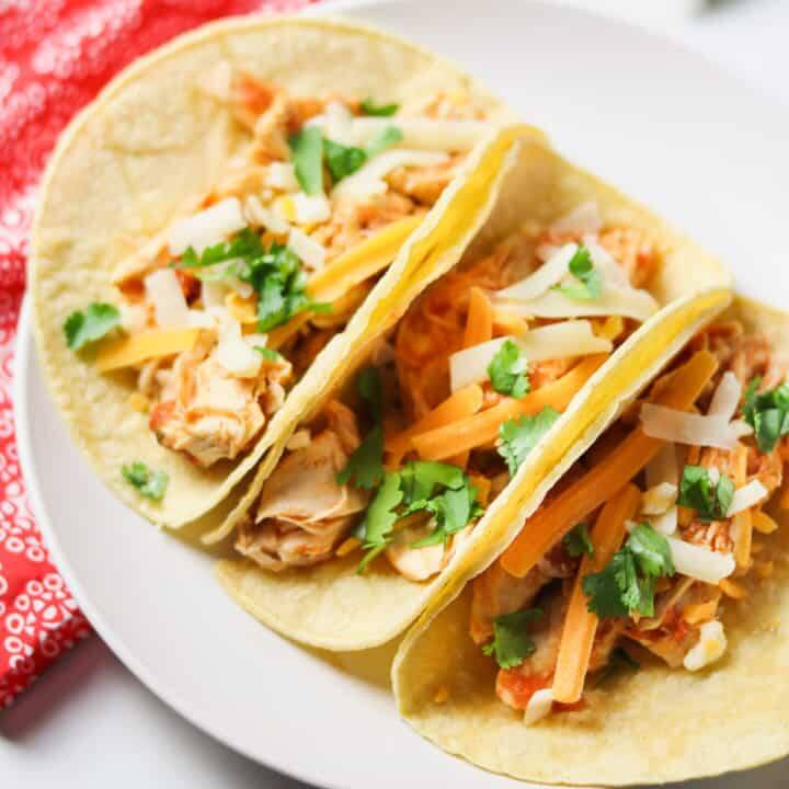 Street Tacos Pulled Chicken Cazaa