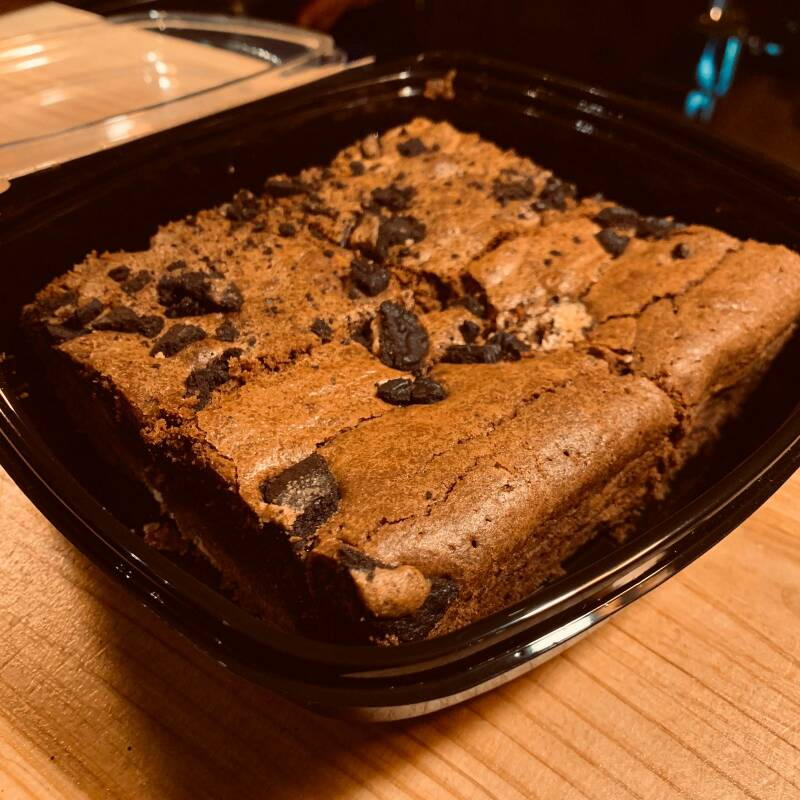Brownies made by SUUSBAKSELS