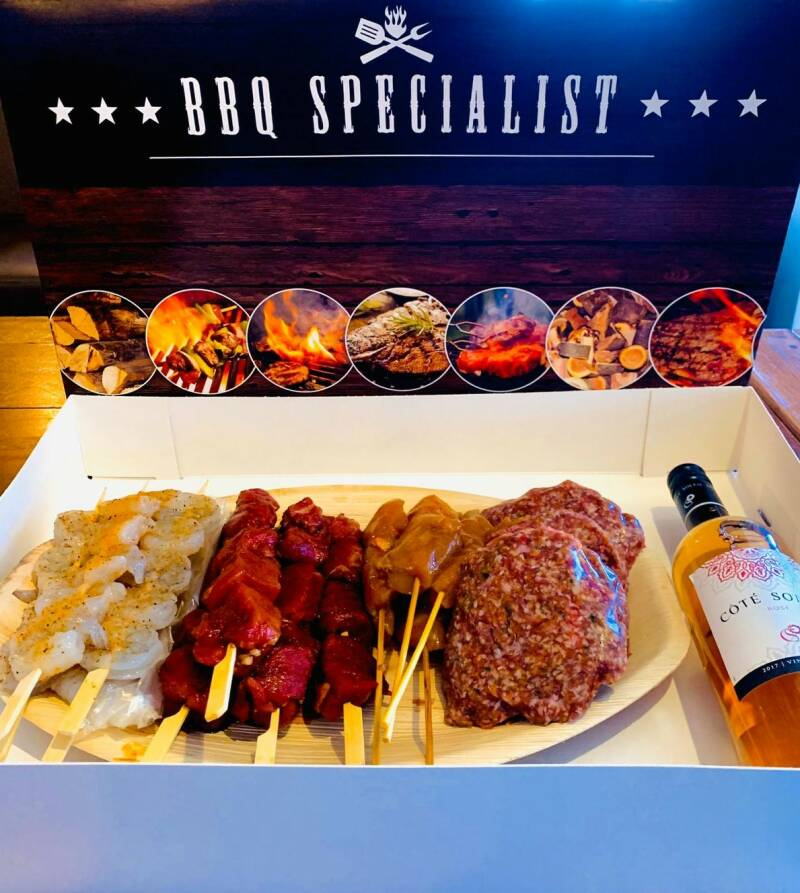 BORRELZZ BARBECUE BOX