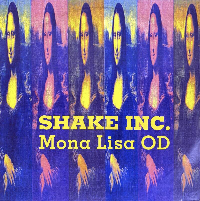 "12"" Maxi single Shake Inc - Mona Lisa"