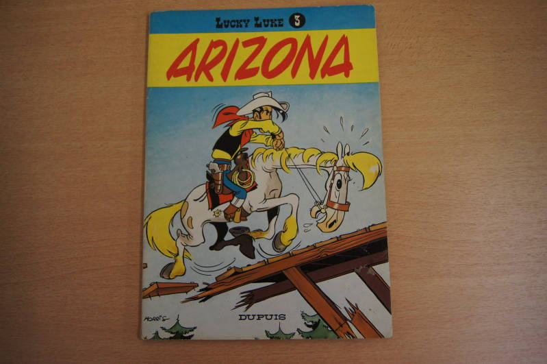 Lucky Luke - Album nr.3 - Arizona
