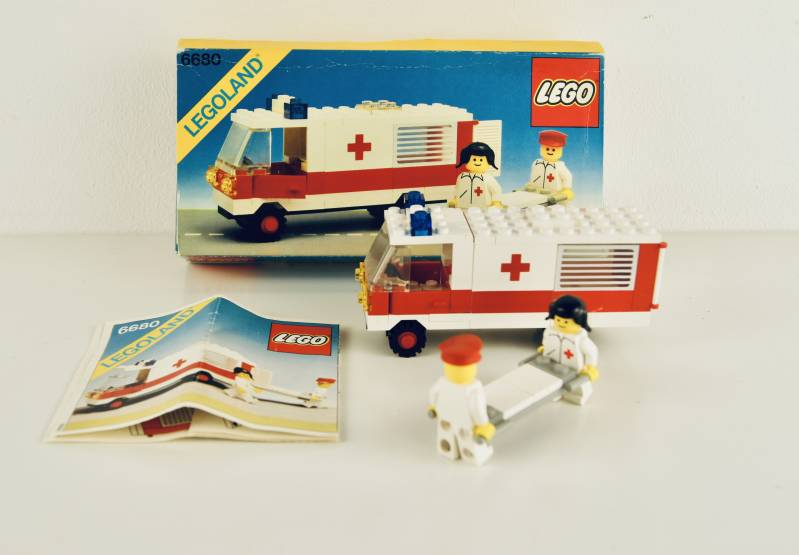 Legoland 6680 Ambulance