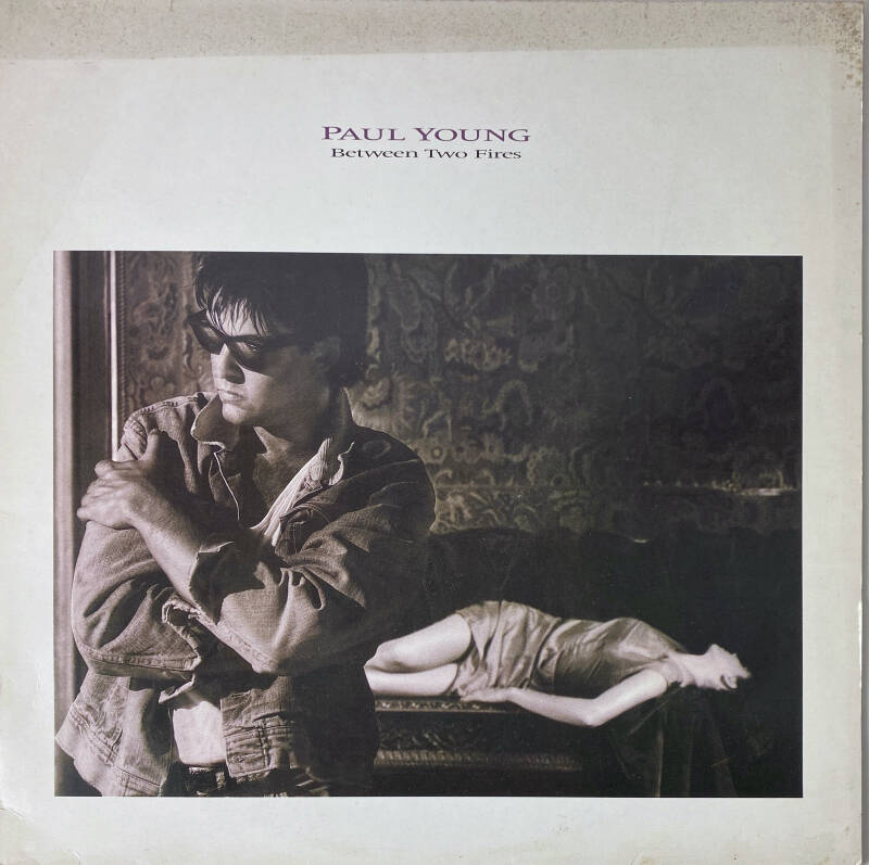 LP - Paul Young - Between two fires