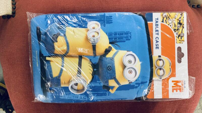Tablet case met rits - Despicable me