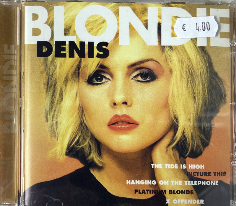 CD - Blondie - Denis