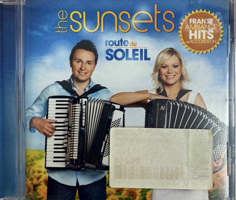 CD The Sunsets - Route du soleil