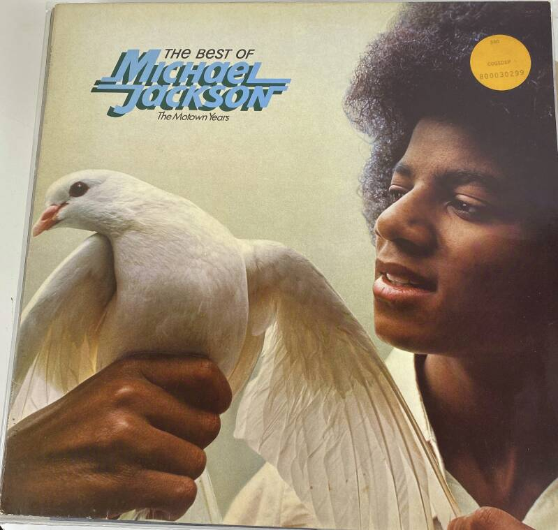 LP - The best of - Michael Jackson - The motown years