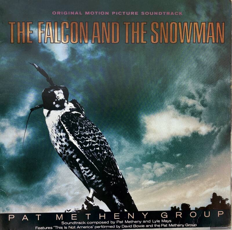 LP - Pat Metheny group - Soundtrack The falcon & the snowmen