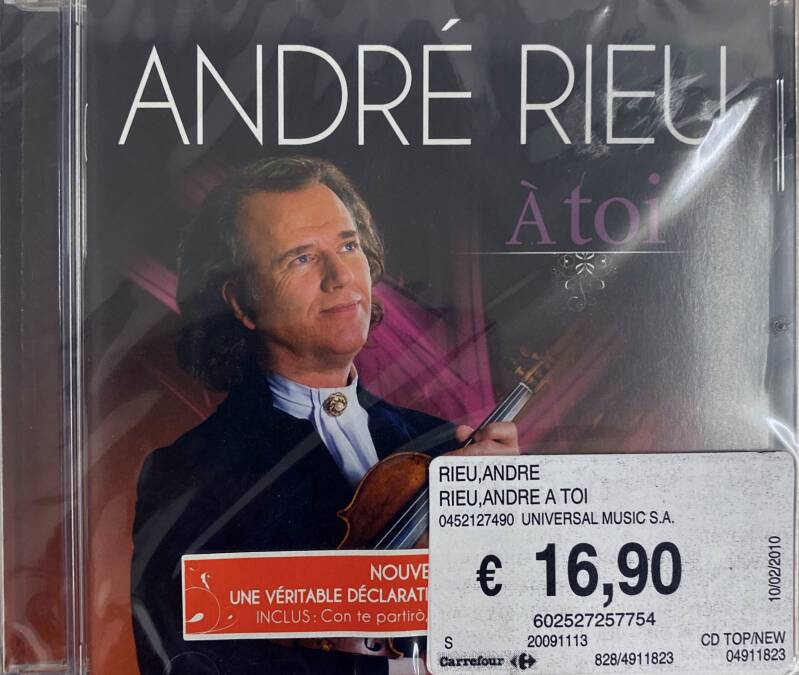 CD Andre Rieu - A Toi