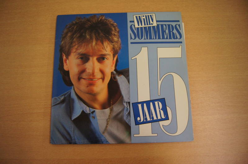 2 LP Willy Sommers - 15 Jaar