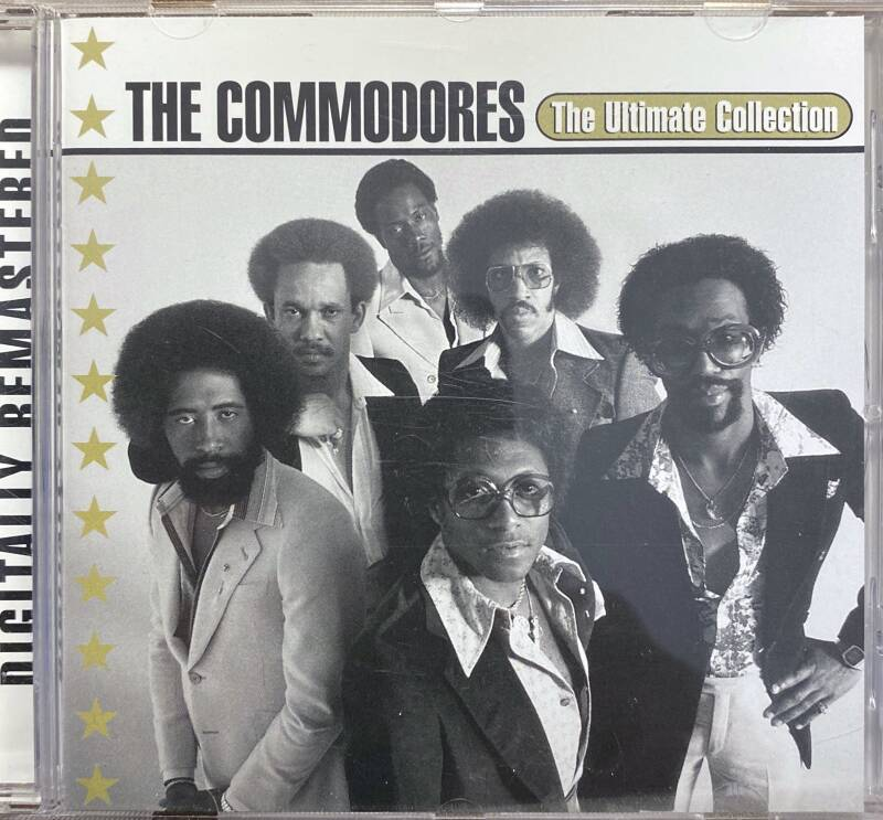 CD The Commodores The Ultimate collection