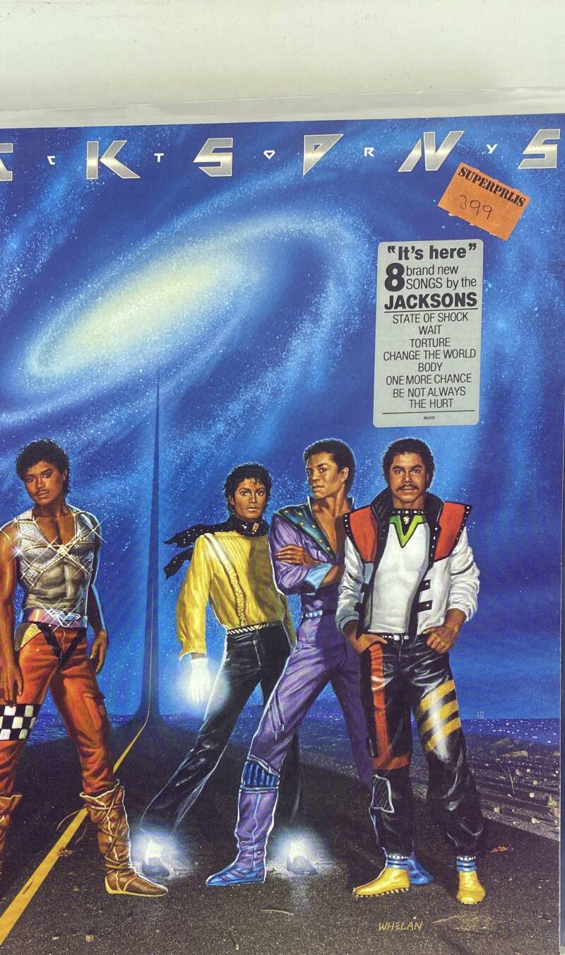 LP - The Jacksons - Victory