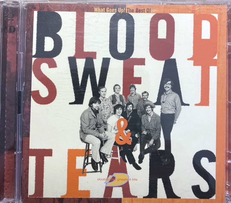 2 CD Blood, sweat & tears - What goes up! The best of
