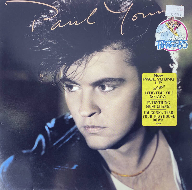 LP - Paul Young -  Everytime you go away
