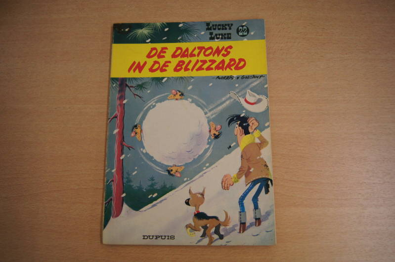 Lucky Luke - Album nr. 22 - De daltons in de Blizzard
