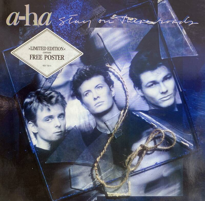LP - A-HA - Stay on these roads - Poster inbegrepen