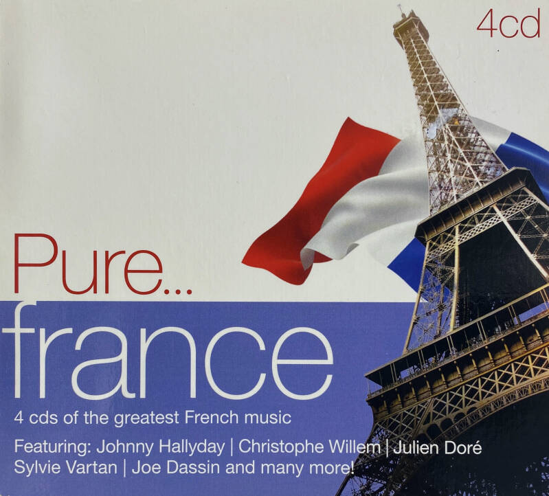 4 CD - Pure France - Various artists