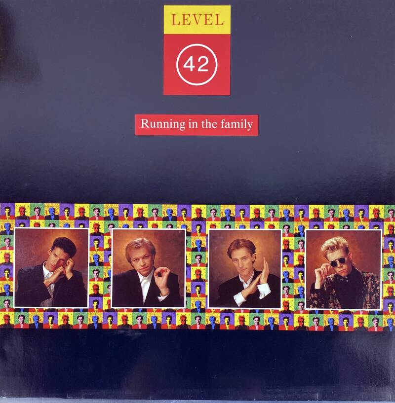LP - Level 42 - Running in the family
