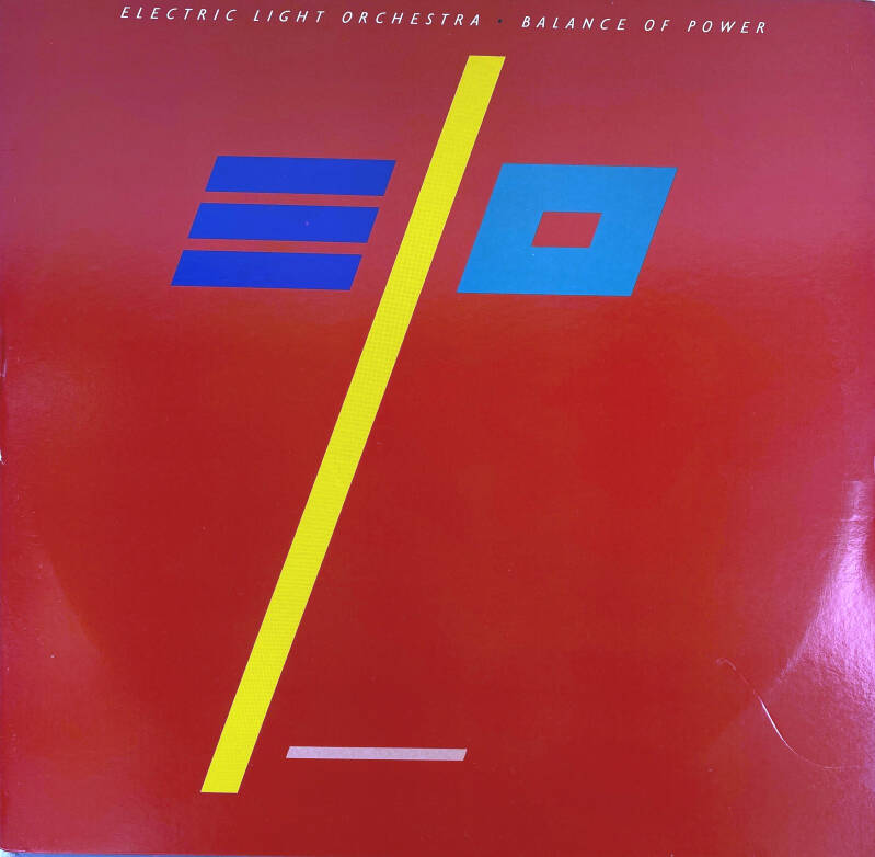 LP - Electric light orchestra - Balance of power