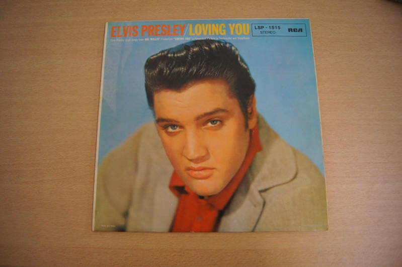 LP Elvis Presley - Loving you