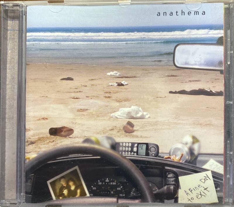 CD - Anathema - A fine day to exit
